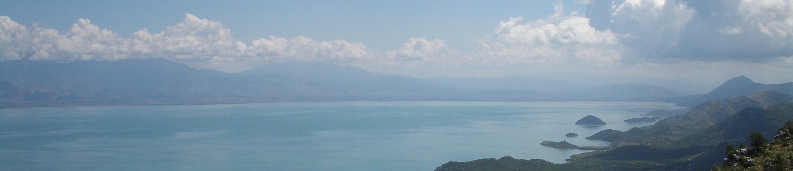 Skadar lake, the largest lake in the Balkans and a famous beauty spot